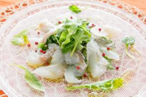 レッスン11白身魚のカルパッチョ