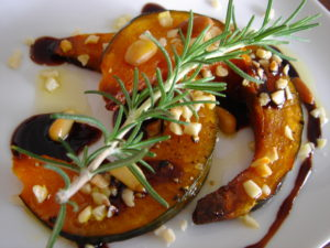 レッスン7カボチャと木の実のオーブン焼き